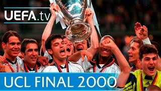 Real Madrid v Valencia - 2000 UEFA Champions League final highlights