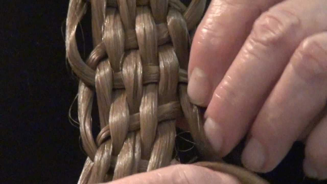 Fancy Basket Weave Braid Video From The Feathered Nest Bishop Hill