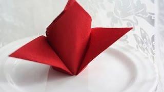 Как красиво сложить САЛФЕТКИ для праздничного стола(Как красиво сложить салфетки для праздничного стола. Если вы хотите красиво сервировать праздничный стол,..., 2015-11-19T19:12:44.000Z)