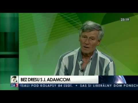 Bez dresu s legendárnym hokejistom a trénerom Jozefom Adamcom