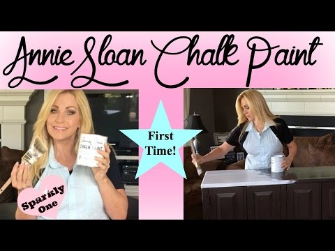Annie Sloan Chalk Paint Tutorial - First Time Ever Using It!