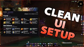 WoW CLEAN UI Seтup | Addons Guide