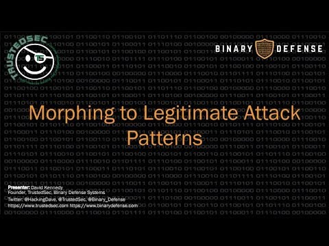 Morphing to Legitimate Attack Patterns