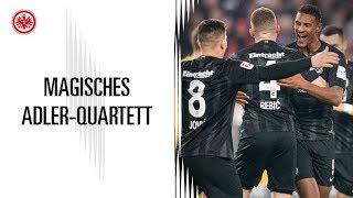 Magisches Quartett bei Eintracht Frankfurt