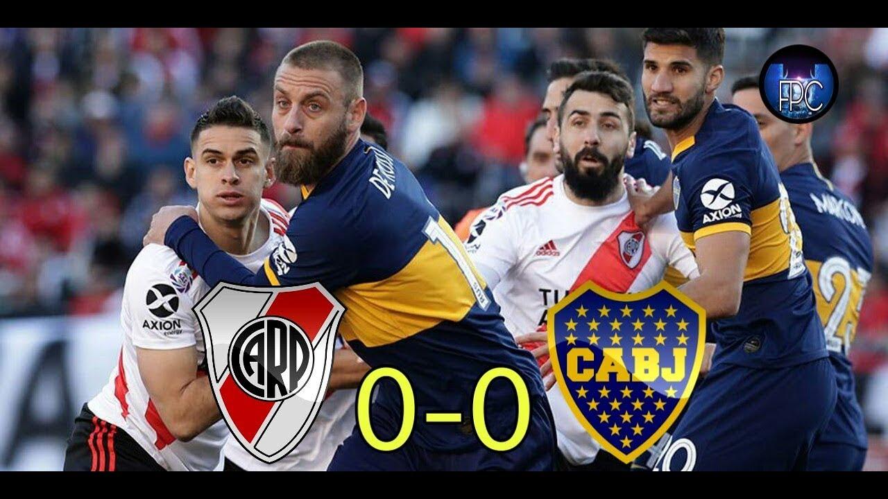 RIVER VS BOCA 0-0 RESÚMEN COMPLETO AL ESTILO PASO A PASO