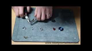 Jewelry making - Mini DIY Project 1: Making a simple necklace with different pendants Thumbnail