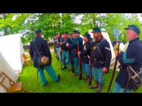 Genesee County Village Civil War Reenactment
