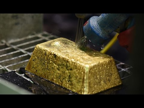 Gold Down as European Market Took Profits on Stronger Equity Prices