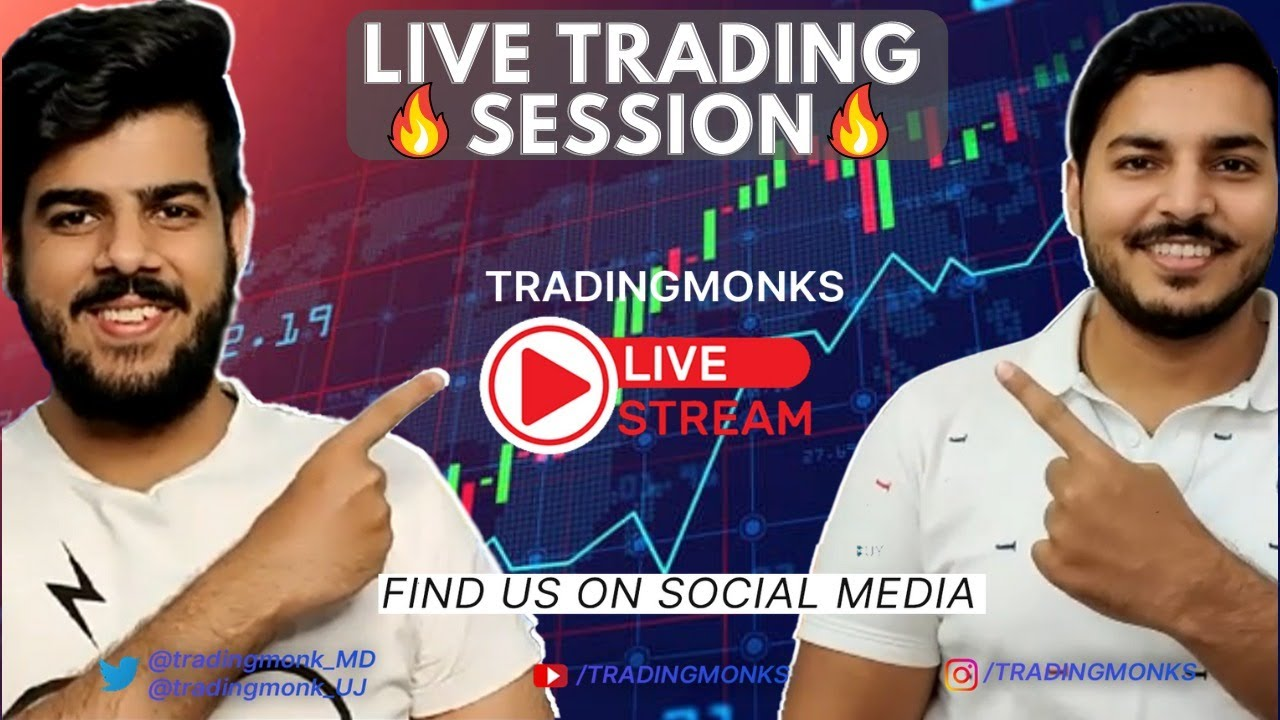 🔴 Live Trading Session Nifty/Banknifty with TRADINGMONKS