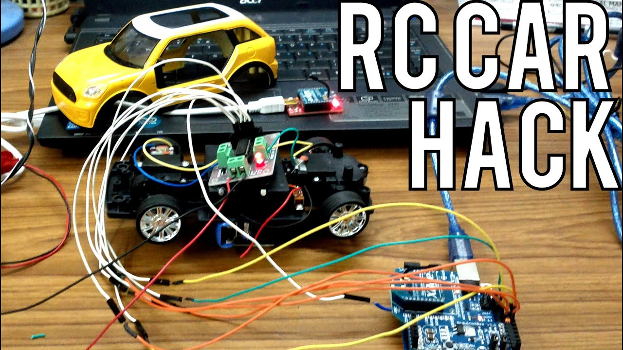 how to make rc car