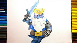 COMO DIBUJAR AL FANTASMA REAL - CLASH ROYALE / how to draw royale ghost - clash royale