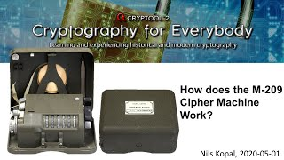 How does the M-209 Cipher Machine work?