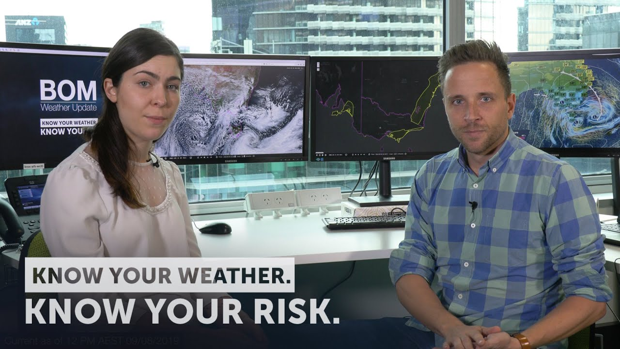 WEATHER UPDATE: Damaging winds, rainfall and snow across southeast  Australia, 9 August 2019