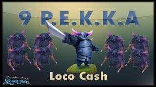 Loco Clash 9 pekkas - Mundo Clash of Clans #249