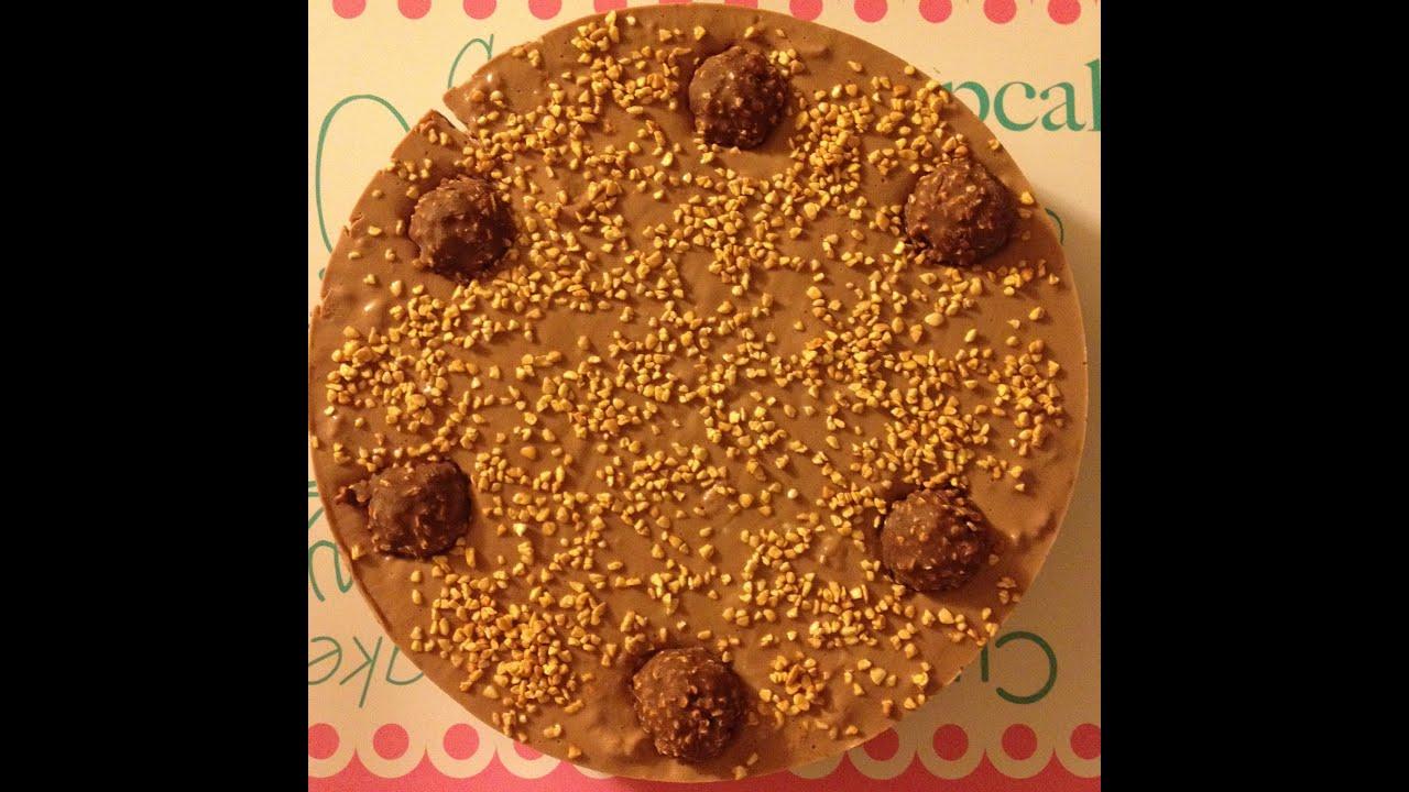 Famoso Cheesecake Ferrero Rocher - Le Sugar - YouTube KA18