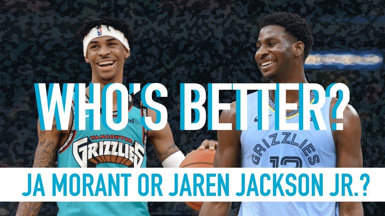 Who's the Memphis Grizzlies best player? Ja Morant or Jaren Jackson Jr?