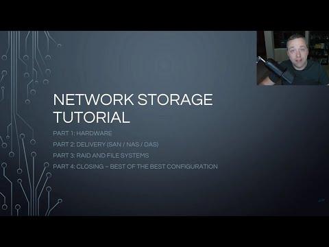 NAS vs SAN - Network Storage Guide