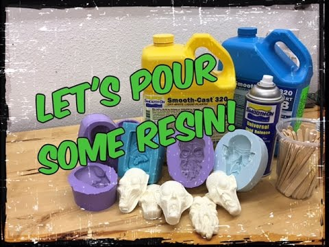 Let's pour some resin! How I go about pouring my silicone molds with resin tutorial!