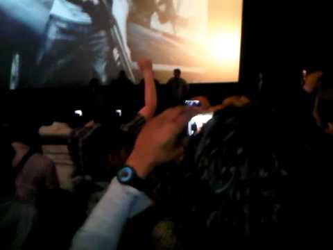 Fast Five premiere Amsterdam The Rock, Dwayne Johnson