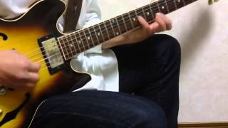 I tried to play the last part of John Tropea's version. He plays so...