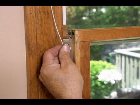 How to Replace a Window Sash Spring Balancer - This Old House