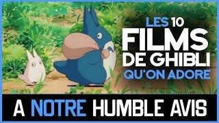 Les 10 Films Du Studio Ghibli PrÉfÉrÉs Des AbonnÉs