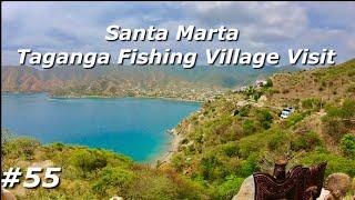 Beautiful Fishing Village Taganga Santa Marta Colombia
