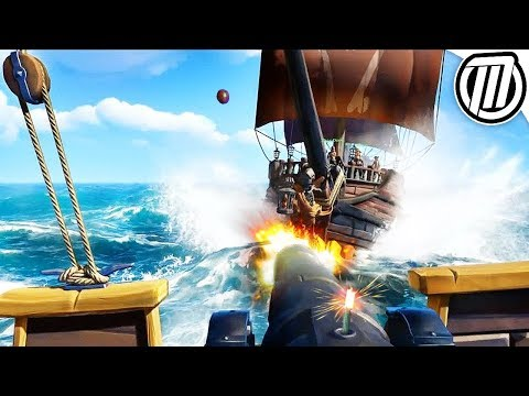 Sea of Thieves: EPIC 3-Day-Long PIRATE SHIP BATTLE (Sloop VS Galleon) | Gameplay