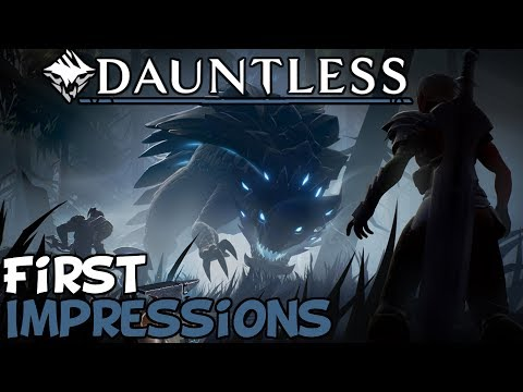 "Dauntless First Impressions ""Is It Worth Playing?"""
