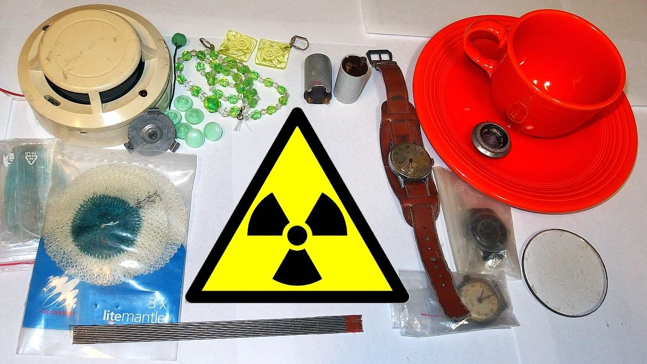 Radioactive Items in a Household and Everyday Life - YouTube