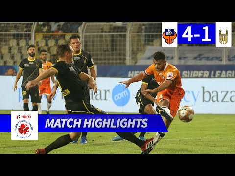 FC Goa 4-1 Hyderabad FC - Match 74 Highlights | Hero ISL 2019-20