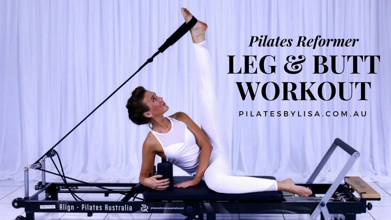 Pilates Reformer Leg Butt Workout Youtube