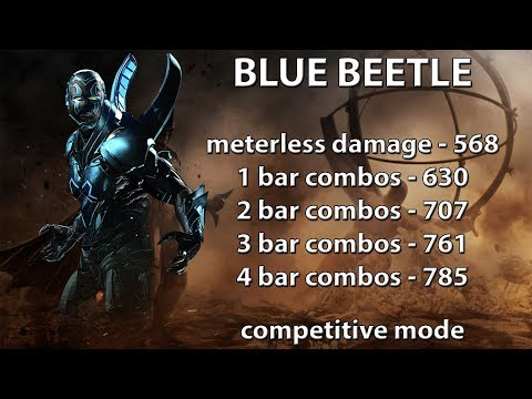Injustice 2: Blue Beetle combo guide....