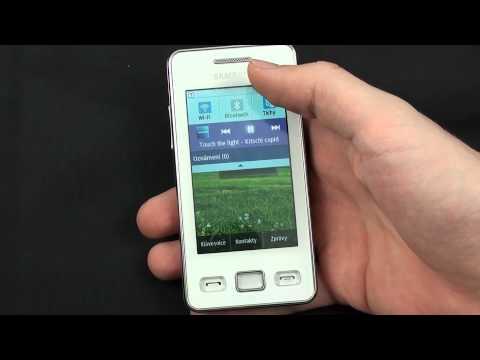 Samsung Star II - hudební přehrávač