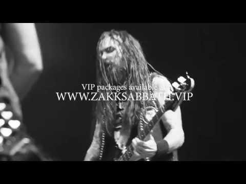 Zakk Sabbath Tour Trailer