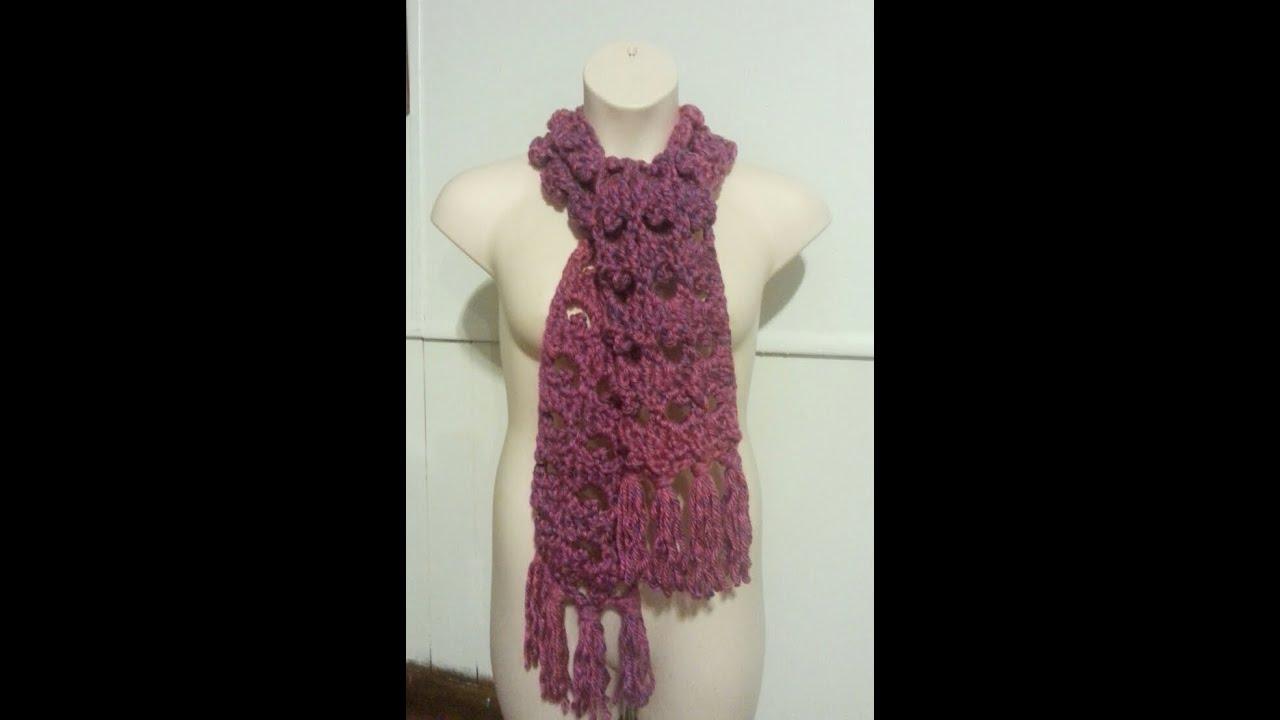 Beginner Crochet Stitch Tutorial : CROCHET How to #Crochet Easy Turtle Stitch Scarf #TUTORIAL ...