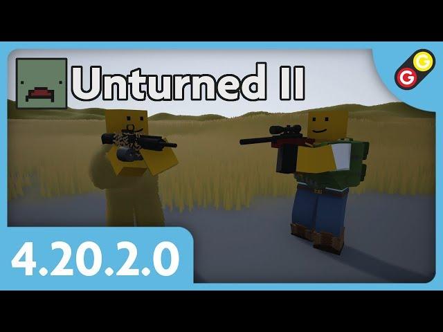 Unturned II - Update 4.20.2.0 [FR]