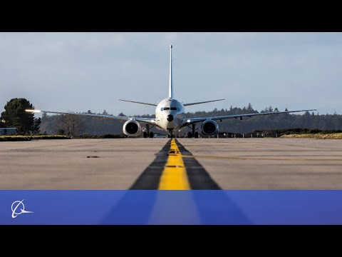 First P-8A Poseidon lands in the UK