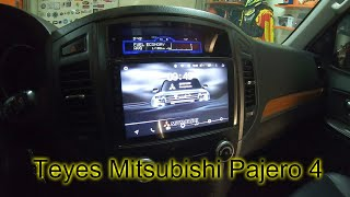 Гаражный Vlog / Установка Teyes SPRO Mitsubishi Pajero 4 / отзыв BMW X5 E53