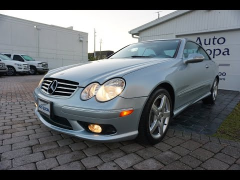 Scared To Own And Maintain A Mercedes-Benz?  The CLK 500 Coupe May Be The Perfect Car For You To Try