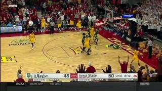 Baylor at Iowa State | 2016-17 Big 12 Men's Basketball Highlights