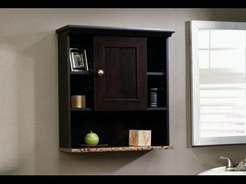 Black Bathroom Wall Cabinet Ideas