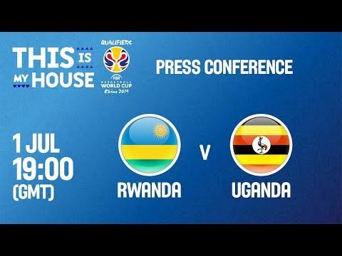 Rwanda v Uganda - Press Conference - FIBA Basketball World Cup 2019