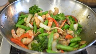 Shrimp Stir Fry!