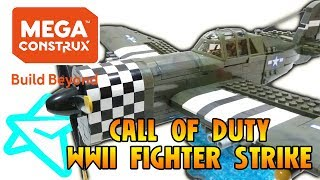 MEGA CONSTRUX CALL OF DUTY WWII FIGHTER STRIKE REVIEW