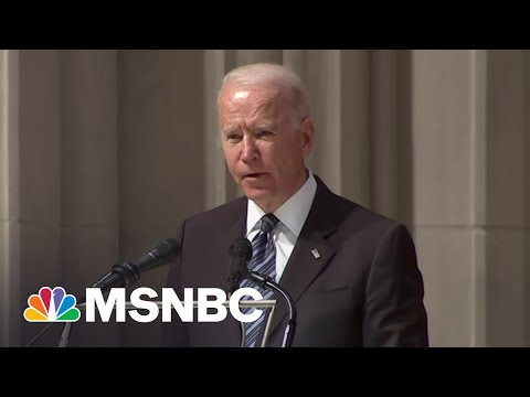 Biden Remembers Former Sen. John Warner As 'A Man Of Conscience'