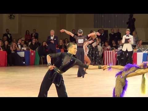 2017 WDC AL World Junior U16 Latin Final Rumba | Bonkovskyy & Vursalova | Бонковский и Вурсалова