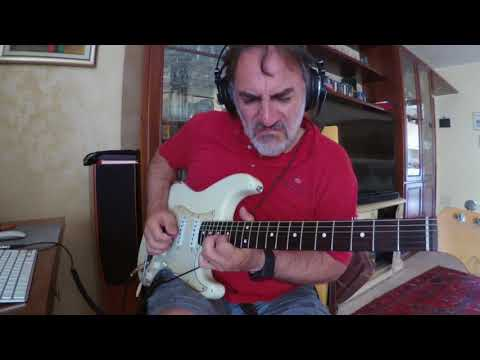 Line 6 Helix - Supro amp sound - Country Rock Ballad improvisation
