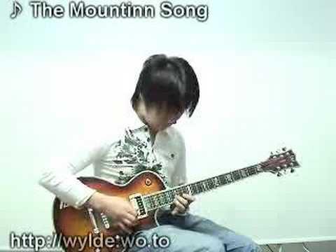 joe satriani-mountain song cover lee kyung won