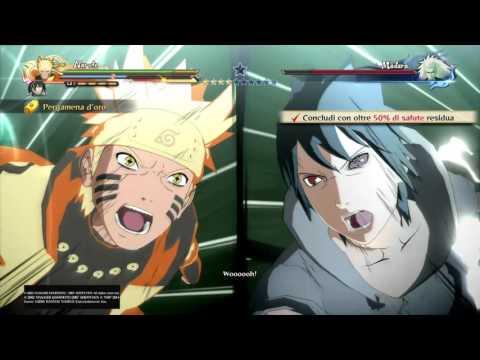 NARUTO SHIPPUDEN Ultimate Ninja STORM 4 - Naruto & Sasuke Vs Madara Rank S PART 1